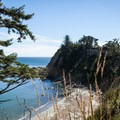 Drake Point is named for Francis Drake, who is rumored to have anchored in the area.- Cape Arago State Park