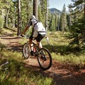 Indigo Lake Trail is wide and smooth.- Timpanogas + Indigo + June Lake Trails