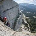 Climbing Hobbit Book in Yosemite. Photo by Tim Terry II.- Woman In The Wild: Jainee Dial