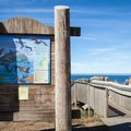 Coquille Point has plenty of interpretive signs to help you identify the wildlife visible form the point.- Coquille Point, Kronenberg County Park