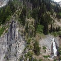 Headwaters of the Sandy River.- Timberline Trail