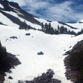 Mount Hood (11,250 ft) from the north.- Timberline Trail