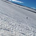 Crossing below Cooper's Spur.- Timberline Trail