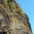Pitch 5.- Beacon Rock: Southeast Face