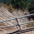 Amazing trail structures on the hike down.- Beacon Rock: Southeast Face