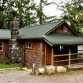Lakefront cabin.- Silver Lake Park Campground