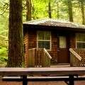 Cascade Cabin near loop 6. - Silver Lake Park Campground