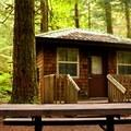 Cascade Cabin near loop 6. - Silver Lake Park Campground