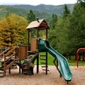 Silver Lake Park playground.- Silver Lake Park Campground