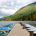 Boat rentals are available.- Silver Lake Park