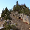 Several trails lead through the area.- Mount Fremont Lookout Trail