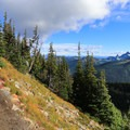 Expansive views begin a short distance into the hike.- Mount Fremont Lookout Trail