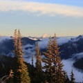 Stunning views on the way down from the hike.- Mount Fremont Lookout Trail