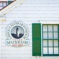 The former Coast Guard station is now a museum.- Umpqua River Lighthouse