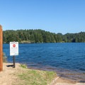 A 10 mph speed limit helps keep the lake traffic calm on busy days.- William M. Tugman State Park