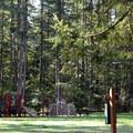 Nolte State Park play area.- Nolte State Park, Deep Lake