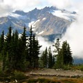 High Camp at 3.5 miles.- Railroad Grade Trail