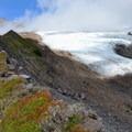 Approaching Easton Glacier.- Railroad Grade Trail