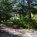 Parking in Napeequa Crossing Campground.- Napeequa Crossing Campground