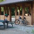Picnic shelter at Duthie Hill Park.- Duthie Hill Park