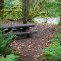 Day use picnic area.- Beckler River Campground