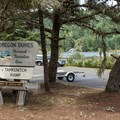 This large boat ramp is better suited for motorized boats and trailers.- Tahkenitch Lake