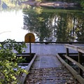 Dock at Nolte State Park.- Nolte State Park, Deep Lake