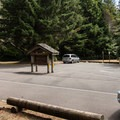 The day use area adjacent to Tahkenitch Campground.- Tahkenitch Campground