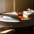 A scale model of the lifeboats used at the Port Orford Lifeboat Station.- Port Orford Heads State Park