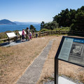 The site of the former Coast Guard lookout tower.- Port Orford Heads State Park Trails