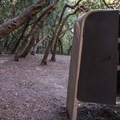 Animal protection boxes for your food.- Mount Madonna Valley View Campground #1