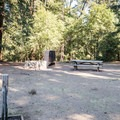 Generously sized camping spaces at Mount Madonna Valley View Campground.- Mount Madonna Valley View Campgrounds #2 + #3