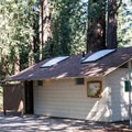 Clean and well-maintained restrooms at Mount Madonna Valley View Campground.- Mount Madonna Valley View Campgrounds #2 + #3
