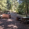 Lone Maple picnic site.- Mount Madonna Valley View Campgrounds #2 + #3