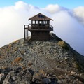 On clear days, Glacier Peak (10,541'), Mount Stuart (9,416'), and even Mount Baker (10,781') can be seen.- Mount Fremont Lookout Trail