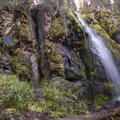 Strawberry Falls.- Little Strawberry Lake via Strawberry Lake + Strawberry Falls