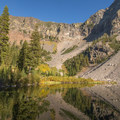Little Strawberry Lake.- Little Strawberry Lake via Strawberry Lake + Strawberry Falls