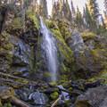 Strawberry Falls.- Strawberry Mountain via Strawberry Lake