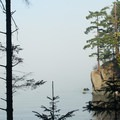 One of the many views from the bluffs of James Island State Park.- James Island Sea Kayaking