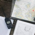 Maps, radio, and current tables are helpful when navigating through the San Juan Islands.- Jones Island Sea Kayaking