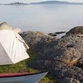 One of the beautiful campsites on Jones Island.- Jones Island Sea Kayaking