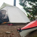 Camping on Stuart Island.- Stuart Island Sea Kayaking