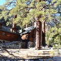Private cabins in Whitney Portal Recreation Area.- Whitney Portal Recreation Area