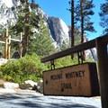Mount Whitney Trailhead.- Whitney Portal Recreation Area
