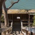 Stairs to the wildlife blind.- Long Valley + Five Fingers Loop