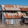 Barn at the dairy farm.- Long Valley + Five Fingers Loop