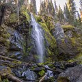 Strawberry Falls.- Strawberry Mountain Wilderness Loop