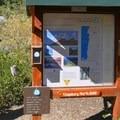 The Castle Rock Loop Trailhead.- Castle Rock Loop