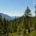 Views along the Castle Rock Loop.- Castle Rock Loop