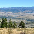 View east to Winthrop and the Methow Valley.- Patterson Mountain